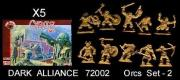 ALLIANCE 72002 ORCS (set 2)