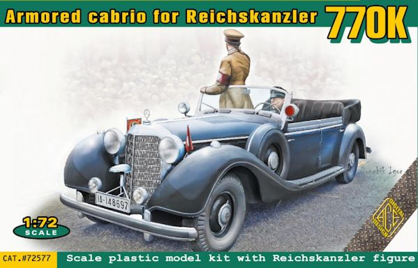 ACE 72577 770K Armored Cabrio for Reichskanzler (2 passenger)